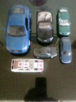 Modelautootjes merk Audi