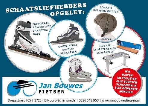 Schaatsen Jan Bouwes