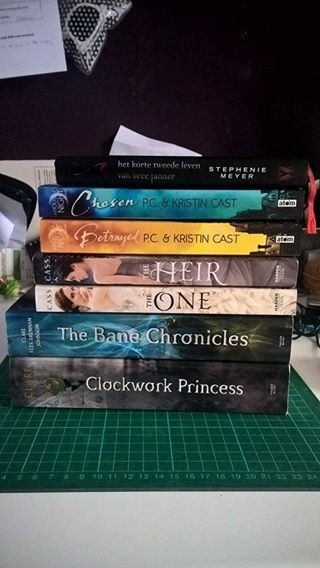 YA boeken te koop/ruil