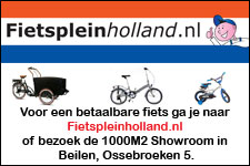 Fietsplein Holland, nu met showroom