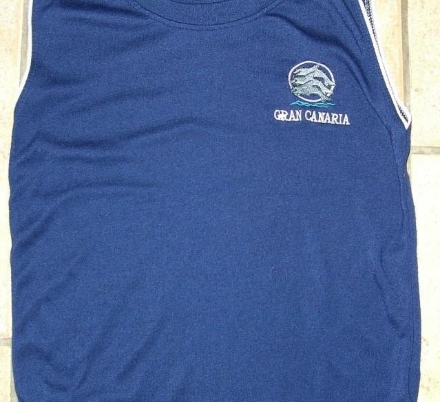 Hemd blauw maat 110-116