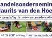 Maurits van H.o. Maurits van den Hoek van harte!