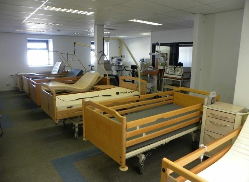 Hooglaagbed Verpleegbed Thuiszorgbed Ziekenhuisbed