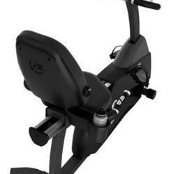 Life Fitness ligfiets recumbent Cycle R3 basic display demo…