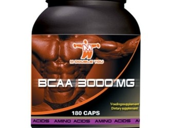 M Double You BCAA 3000mg 180 caps