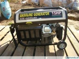 8500 Watt Geluidgedempt kruiwagen Aggregaat 220 V