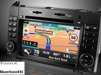 navigatie mercedes sprinter dvd parrot android d99