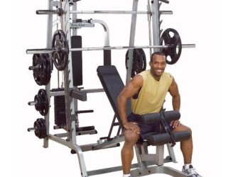 Body Solid Smith Machine GS348P4 Series 7 Full Options