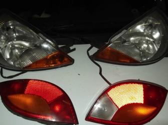 Voor en achterlichten Ford Ka 1997 - 2008