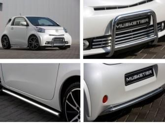 Musketier Toyota IQ Bull Bar / SideBar Set