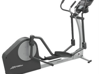 Life Fitness crosstrainer X1 Track Console display DEMO