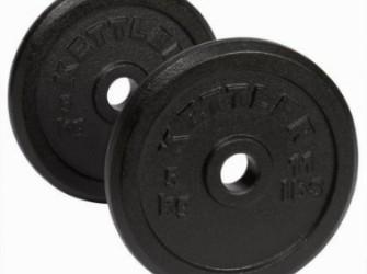 Kettler haltergewichten gietijzer 1 x 1,25 kg 07471-300
