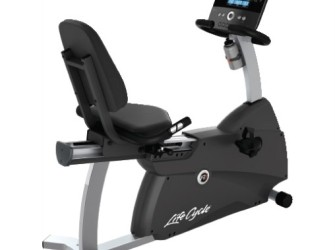 Life Fitness ligfiets recumbent Cycle R1 Track console disp…