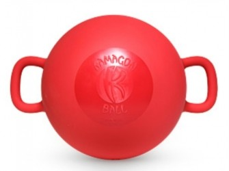 Kamagon Ball Fitness instabiliteits balanstrainer rood