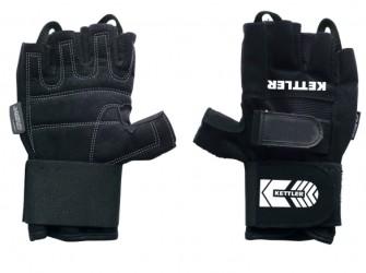 Kettler trainingshandschoenen PRO heren zwart maat L 07370-…