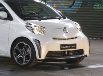 Frontspoiler Carbon Look Toyota IQ