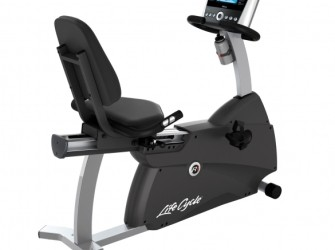 Life Fitness ligfiets recumbent Cycle R1 Go console display…