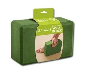 Gaiam Forest green yogablok G05-57824