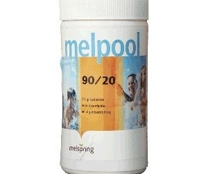 Melpool chloortabletten klein 90/20 1 kilogram kg