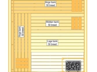 VSB Sauna Prestige 210x250x205
