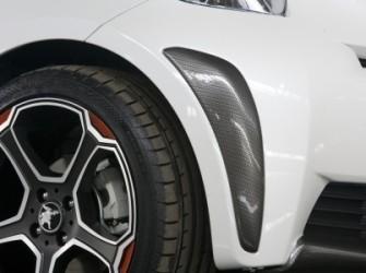 Toyota IQ Bumper Corner Covers Carbon Look