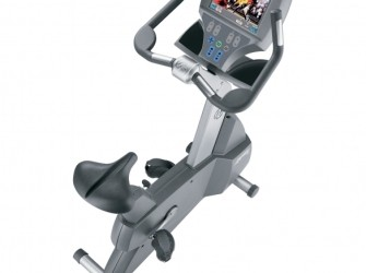 Life Fitness hometrainer 95CE 95 CE Upright Cycle gebruikt