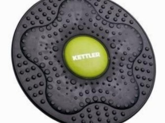 Kettler balance board zwart/groen 35,6 centimeter 07350-151