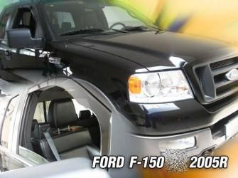 Ford USA F150 zijwindschermen pasvorm getinte raamspoilers