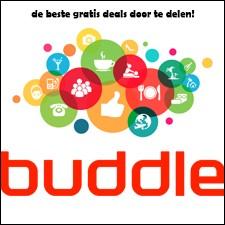 Buddle, de beste gratis deals door te delen