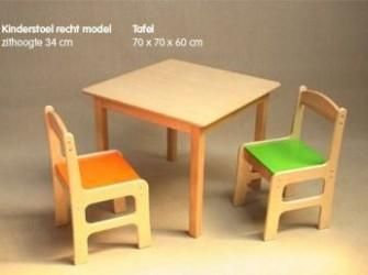 Kindertafeltjes,kinderstoeltjes,tafeltje en stoel