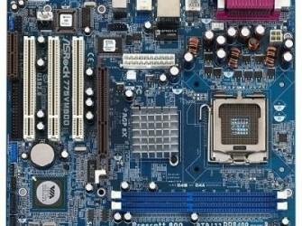 Nieuw ASRock 775VM800 VGA onboard DDR