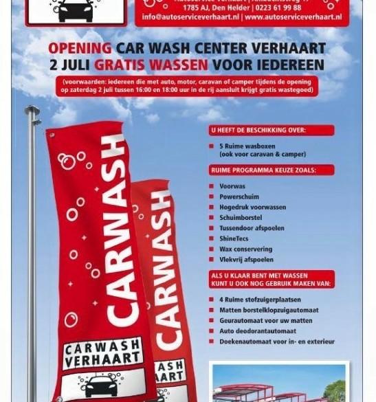 carwash,autowasserette,camper den helder