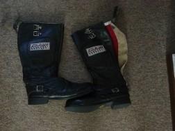 Motor laarzen, jack, handschoenen en meer