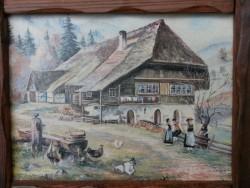 Schilderij Tolosa circa 1900