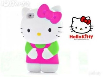 Hello Kitty Hard Case voor iphone4,4S