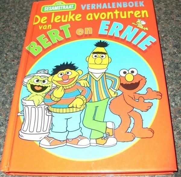 Boek de leuke avonturen van Bert en Ernie