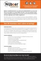 Vacature: Gevraagd een W-Monteur met ruime ervaring