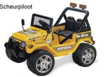 Jeep Adventure, 1,5 persoons 12V met RC **NIEUW**