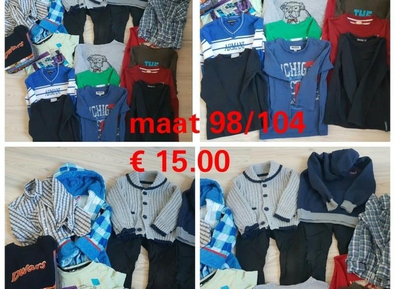 Pakket jongens kleding