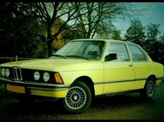 BMW 318 i E21,1982,APK 2014,Geel,oldtimer,Koopje!!