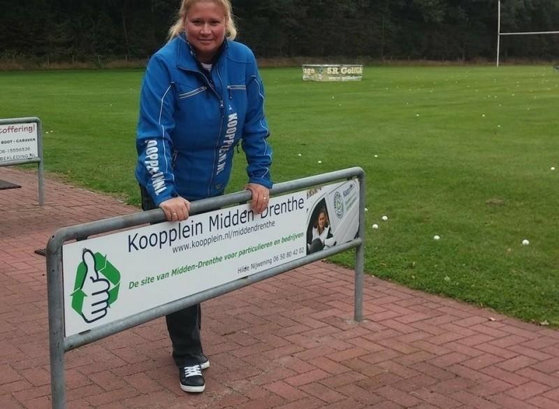 Koopplein Midden-Drenthe sponsort Golfclub Martenplek