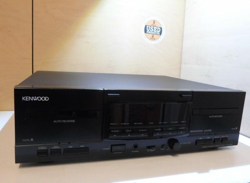 Kenwood KX/W4080 Dubbele Cassette Deck Defect Voor Onderdel…