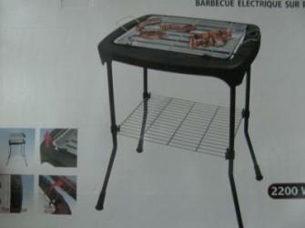 Elektrische barbecue voor binnen en buiten