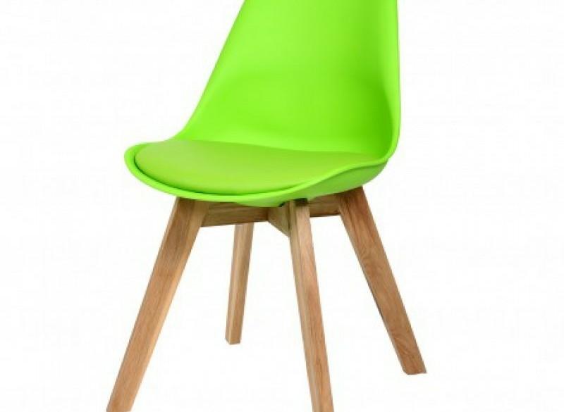 Kuipstoel legno groen