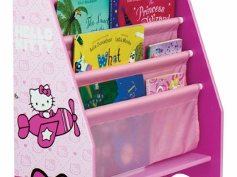 Hello Kitty Houten Speelgoed Kist + Boekenrek + Opbergrek C…