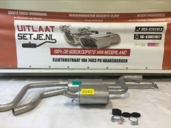 Complete uitlaat Ford Mondeo 2.0 2.2D Set2242