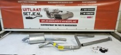 Complete uitlaat Ford Mondeo Galaxy SMax Set2249