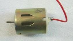 Elektro micromotor, borstelloos,1.5 tot 4.5 volt DC,z.g.a.n…