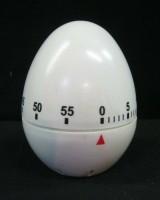 kookwekker in eivorm,zgan,max 60 min,belalarm,7.5 cm hoog
