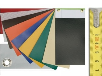 PVC dekzeilen 700g, afdekzeilen, dekkleden, zeil.